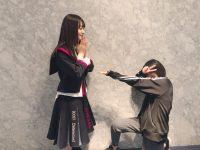 【乃木坂まとめ】katominami_ngt48実は…FNS歌謡祭本番前に#乃木坂46 の#生駒里奈 さんと写真を撮って頂きました🙇♀♥本当生駒さんのインタビューが素晴らしくて文字から溢れる情熱に惹かれてそこから好きになりました!